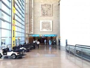 Arrival Ben Gurion Airport Israel